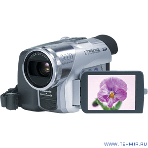 Видеокамера Panasonic NV-GS120GC-S  / Panasonic NV-GS120