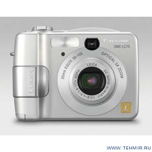 Цифровой фотоаппарат Panasonic Lumix DMC-LC70GC-S / Panasonic DMC-LC70