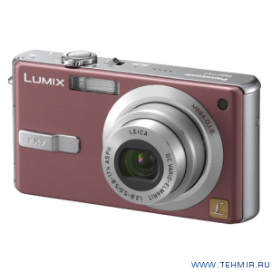 Цифровой фотоаппарат Panasonic Lumix DMC-FX7GC-T бронза / Panasonic DMC-FX7 GC
