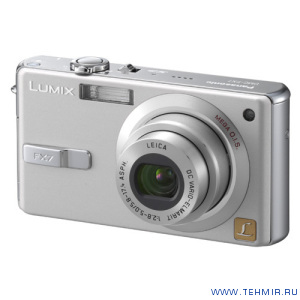 Цифровой фотоаппарат Panasonic Lumix DMC-FX7GC-S / Panasonic DMC-FX7