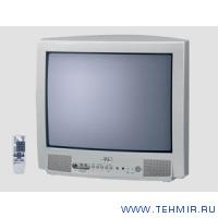 JVC AV-2115EE 21 дюймовый телевизор, звук - моно 2 х 3 Вт, тюнер - PAL/SECAM/NTSC, 100 каналов, цвет...